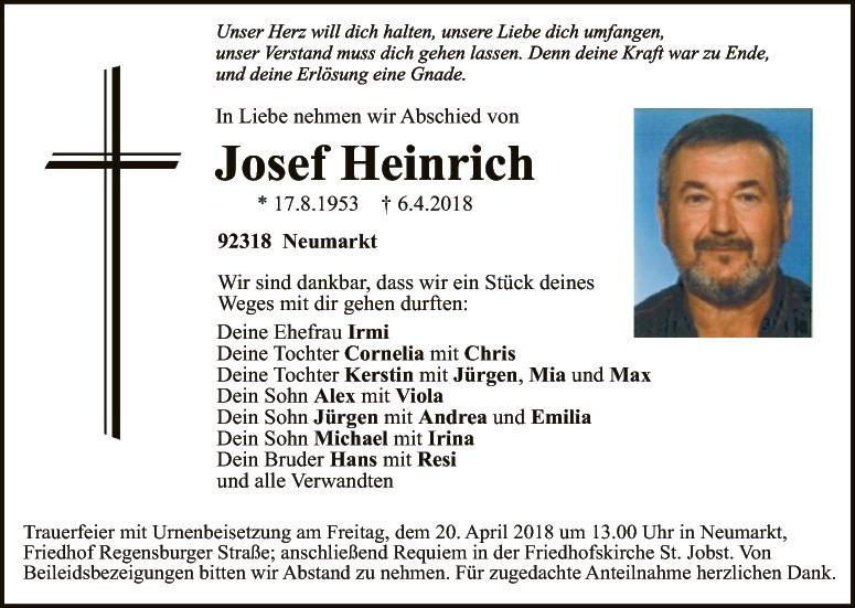 Todesanzeigen Amberg Sulzbach